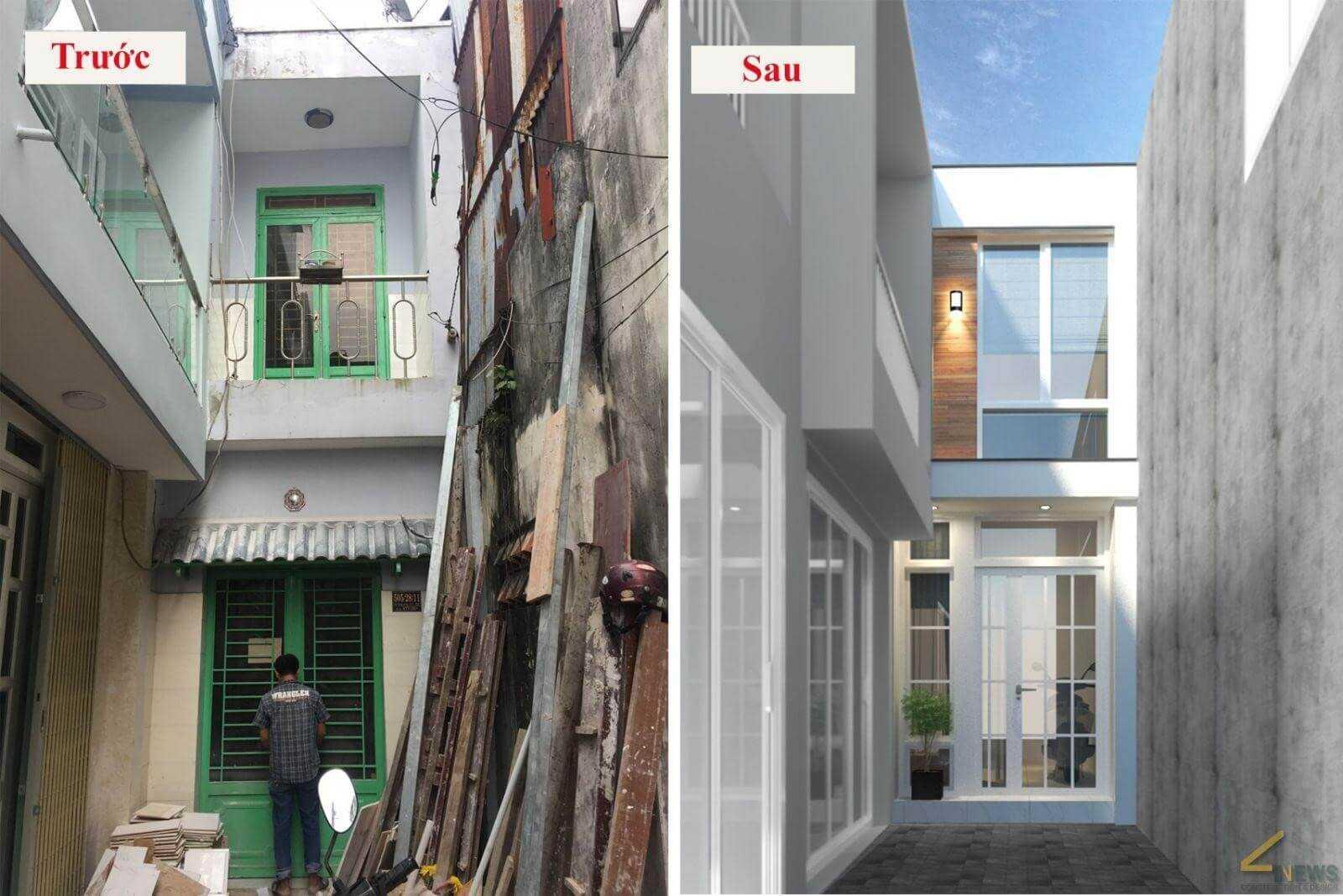 API Việt Nam có kinh nghiệm cải tạo nhà cũ trên 10 năm với hàng trăm dự án tại Hà Nội